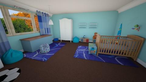 Babys Bedroom 6 - Kids room - by Suzanne Hoskins
