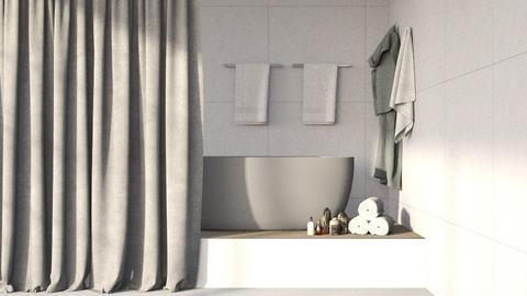 Free Standing Bath - Minimal - Bathroom  - by kitacat