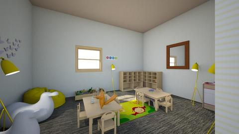 Interior Design Playroom - Kids room - by NyahChatman