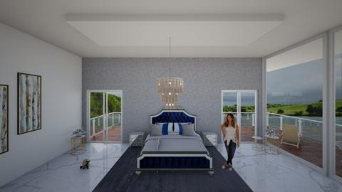 mansion - Modern - Bedroom  - by Mireya Zabala