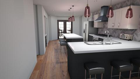 Kitch v8 no beam floor - Kitchen  - by kurtwise