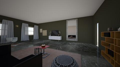 Orental space - Modern - Living room  - by parisbiggs710