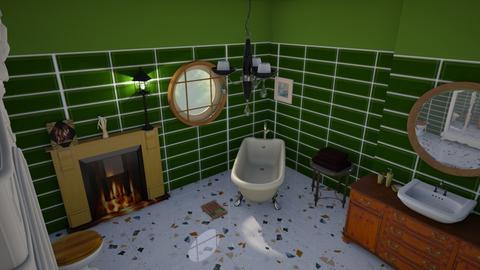 Greeen - Glamour - Bathroom  - by augustmoon