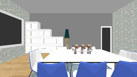 dining room 1 - Dining room - by rochemaja