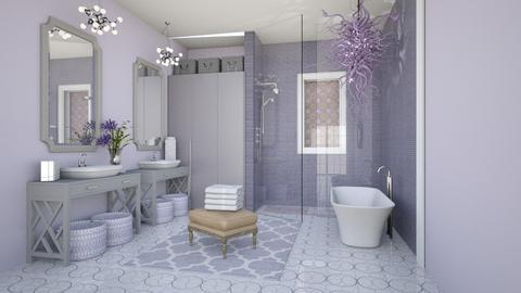 Lavender Bathroom - Bathroom - by jjp513