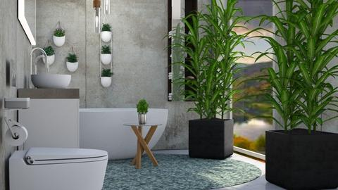 jungle - Bathroom  - by Sirtzuu93