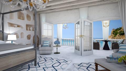santorini - Bedroom  - by matina1976