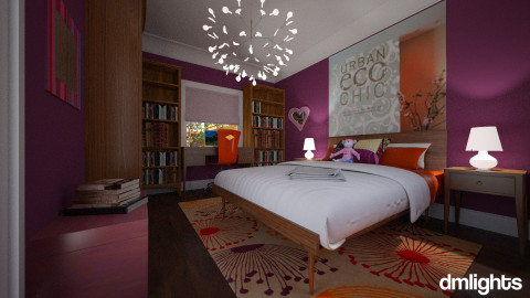 Girly Room - Eclectic - Bedroom - by Theadora2