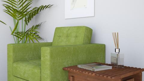 green - Living room  - by LI_VV
