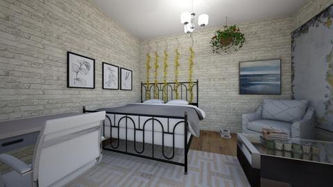 Dorm room - Modern - by kiwimelon711