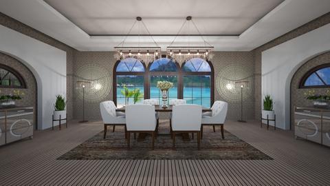 BBDr - Modern - Dining room - by Saj Trinaest