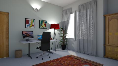 Albaab Study Room - Office  - by aqeela23