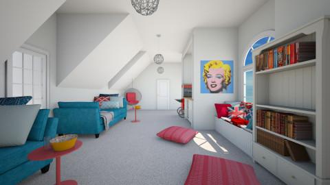 Girls Lounge Room - Feminine - by nyc17