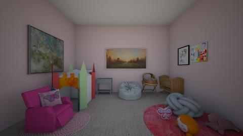 Razan  - Kids room  - by razanaljanaideh2