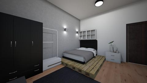 Kamar 5 - Modern - Bedroom - by Farhan Herjanto