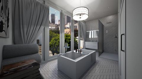 Chic bathroom - Classic - Bathroom - by chicken1234