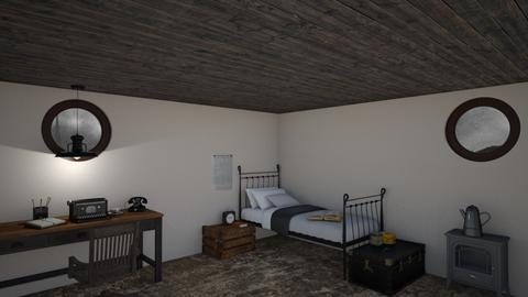 reporter  - Vintage - Bedroom - by AnneMlm