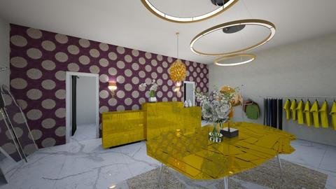 Gabi 2 - Living room  - by aguss