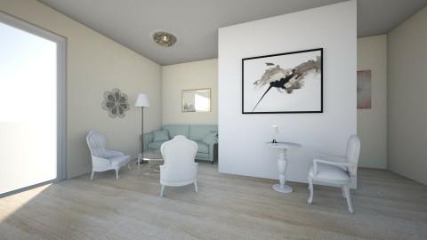 Elegant  - Glamour - Living room  - by zosiawojcik