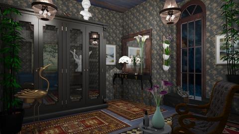 Glass cabinet - by Yavanna