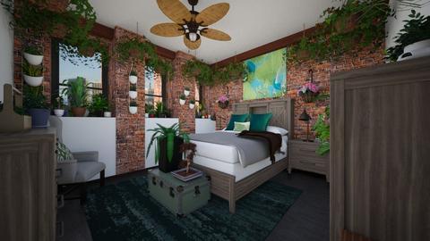 Eden in the City - Bedroom  - by SammyJPili