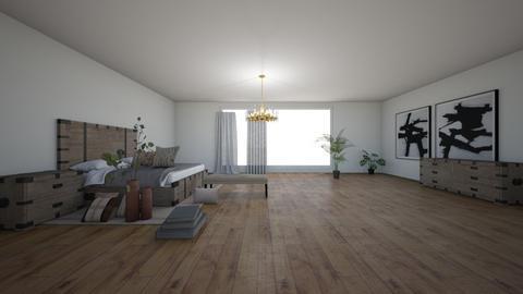 Master Bedroom - Modern - Bedroom - by lisajohnson616