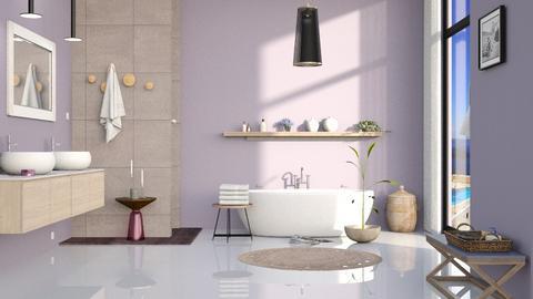 bathroom lavender - by Lo89
