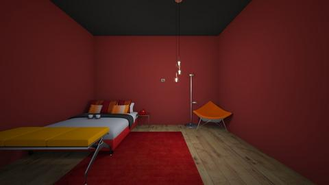 endover - Bedroom  - by crying_room