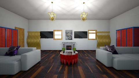 formal - Modern - Living room  - by tjyo