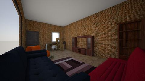 studiopart 4 - Rustic - Living room  - by indfh