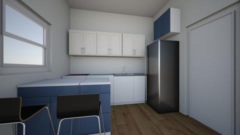 kuhinja layout 1 - Kitchen  - by maja123