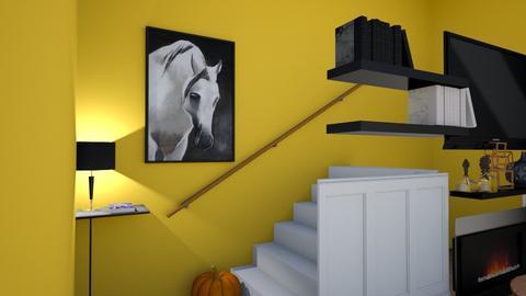 Orange i still need to ed - Living room  - by harassarah11