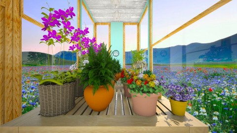 Greenhouse Garden  - Modern - Garden  - by Taisha Casimir