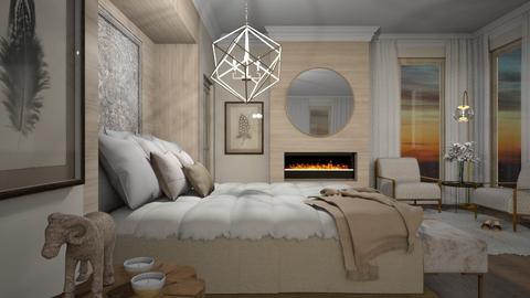 Swing From the Chandelier - Bedroom  - by crosette
