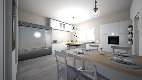 Design de ambient 2 - Kitchen  - by Monica Stoica