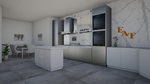 Modern Kitchen - Modern - Kitchen  - by XenaChico