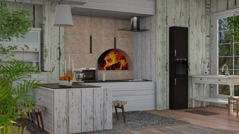 Shabby Chique Kitchen - Kitchen  - by Sue Bonstra