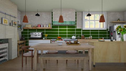 MFK - Country - Kitchen  - by augustmoon