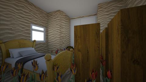 pamsmead room - Retro - Bedroom - by marthalyman9