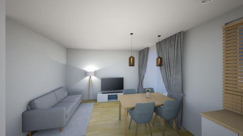 Swiatlo 3 - Living room - by KatarzynaLaszczyk