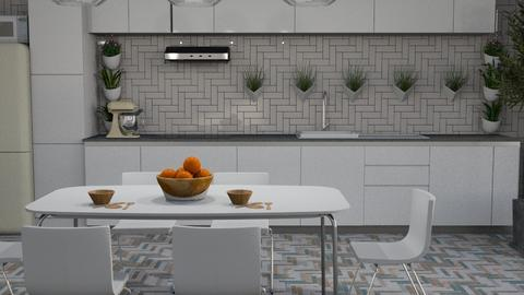 scandinavian - Kitchen  - by ClaraBart