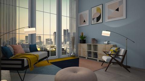 Mid Century Living - Modern - Living room - by Bekah Lynn