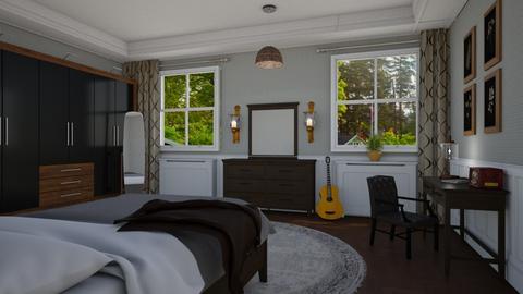 Elvis - Retro - Bedroom - by Elenny