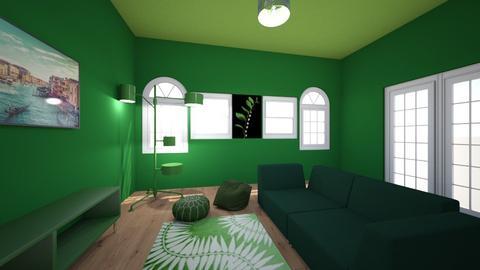 green room - by FDadas