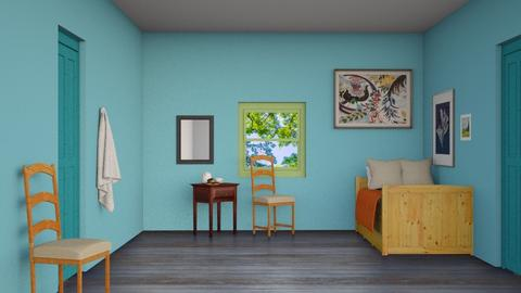 Van Gogh bedroom - Bedroom  - by luna selvaggia