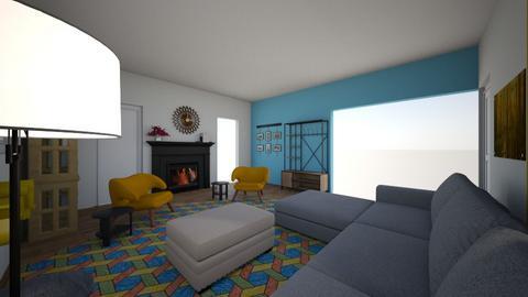 Main room  - Living room  - by AshleeJaye