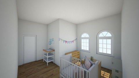 Chambre enfant mixte 1  - Modern - Kids room  - by Carole Fontaine