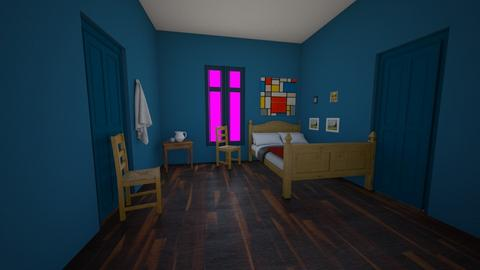 Van Gogh Bedroom - by MilksDaBunz