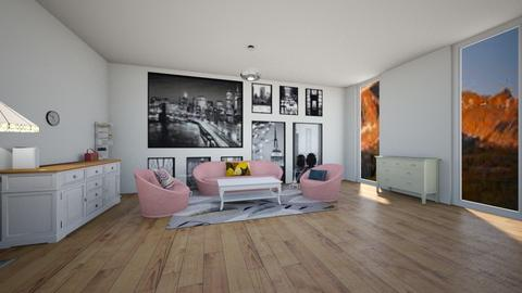 modern living room - Living room  - by 29catsRcool