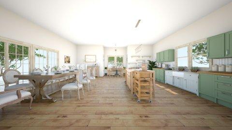 Country Kitchen - Kitchen  - by arpratiwi